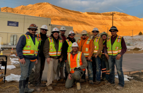 The Iron Woman Construction team of employee owners