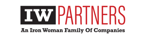 Logo for Iron Woman Partners, an employee-owned construction company in Colorado